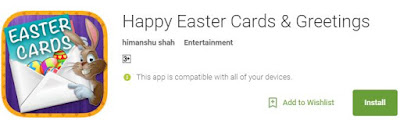Greeting easter apps
