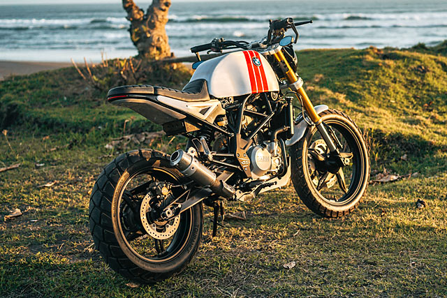 BMW G310R By Smoked Garage Hell Kustom