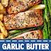 Garlic Butter Baked Salmon (Gluten Free)