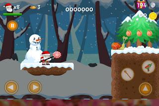 Jungle Adventure Santa World 2021 jogo online grátis