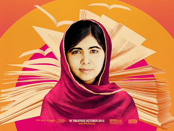 Don't Miss the 'He Named Me Malala' Global Broadcast, Monday February 29 {+ A Book Giveaway} #HeNamedMeMalala #WithMalala