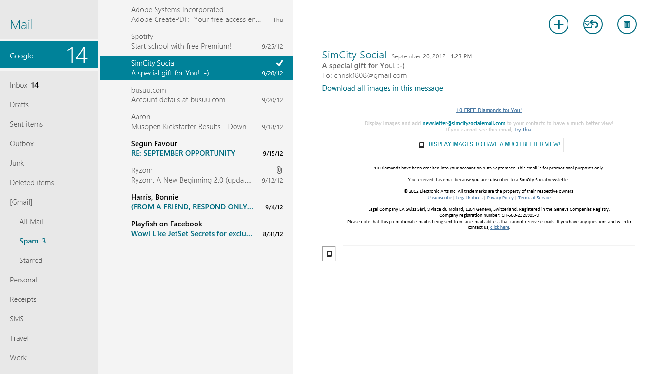Stock App For Windows 8