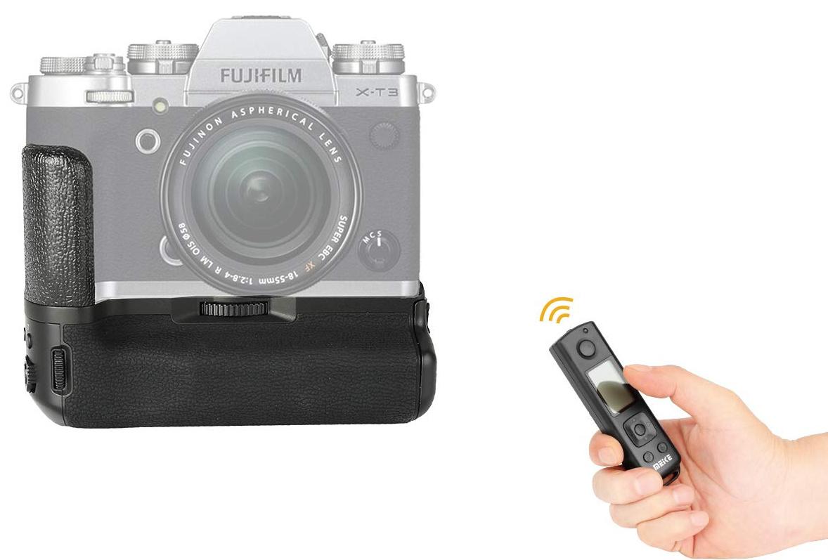 Батарейный блок Meike MK-XT3 Pro для Fujifilm X-T3 c пультом управления