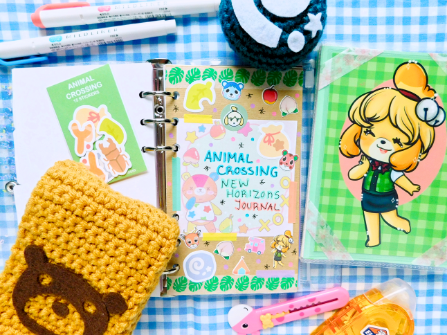 Animal Crossing New Horizon Journal Spread