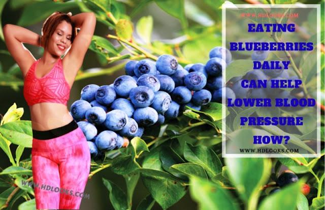 Blueberries can help lower blood pressure