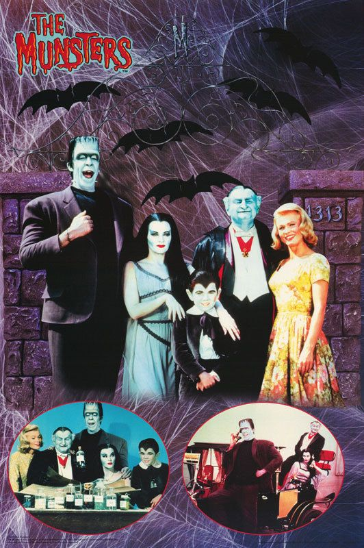 The Munsters Serie Completa Latino (1964)