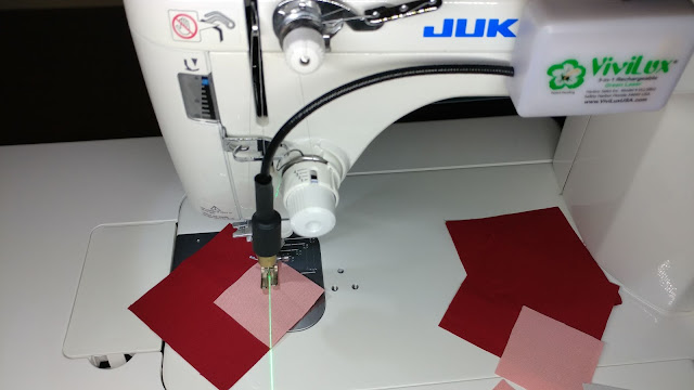 Sewing machine laser