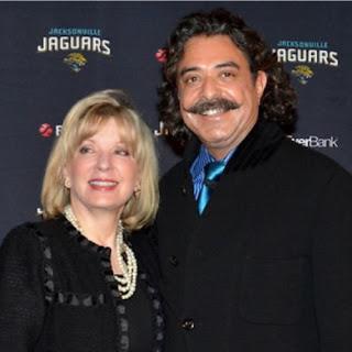 Ann Carlson Khan with billionaire husband Shahid Khan
