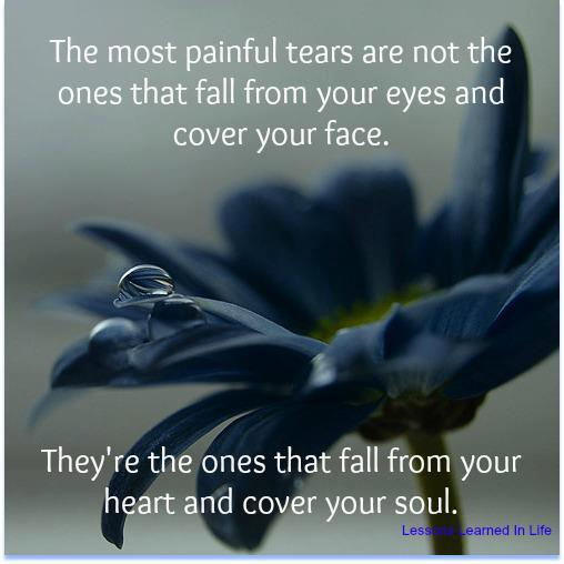 Facebook Timeline Cover Life Quotes: The Most Painful Tears Are Not The Ones That Fall From