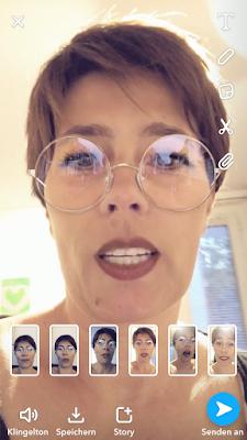 snapchat- 6 Snaps auf einmal aufnehmen