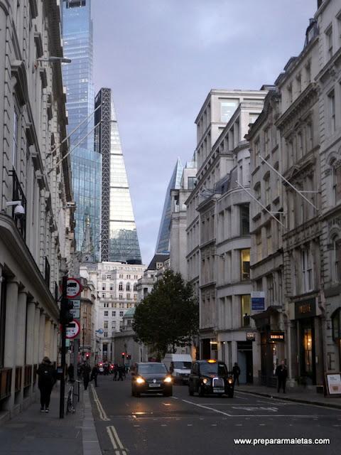 paseo por las calles de Londres