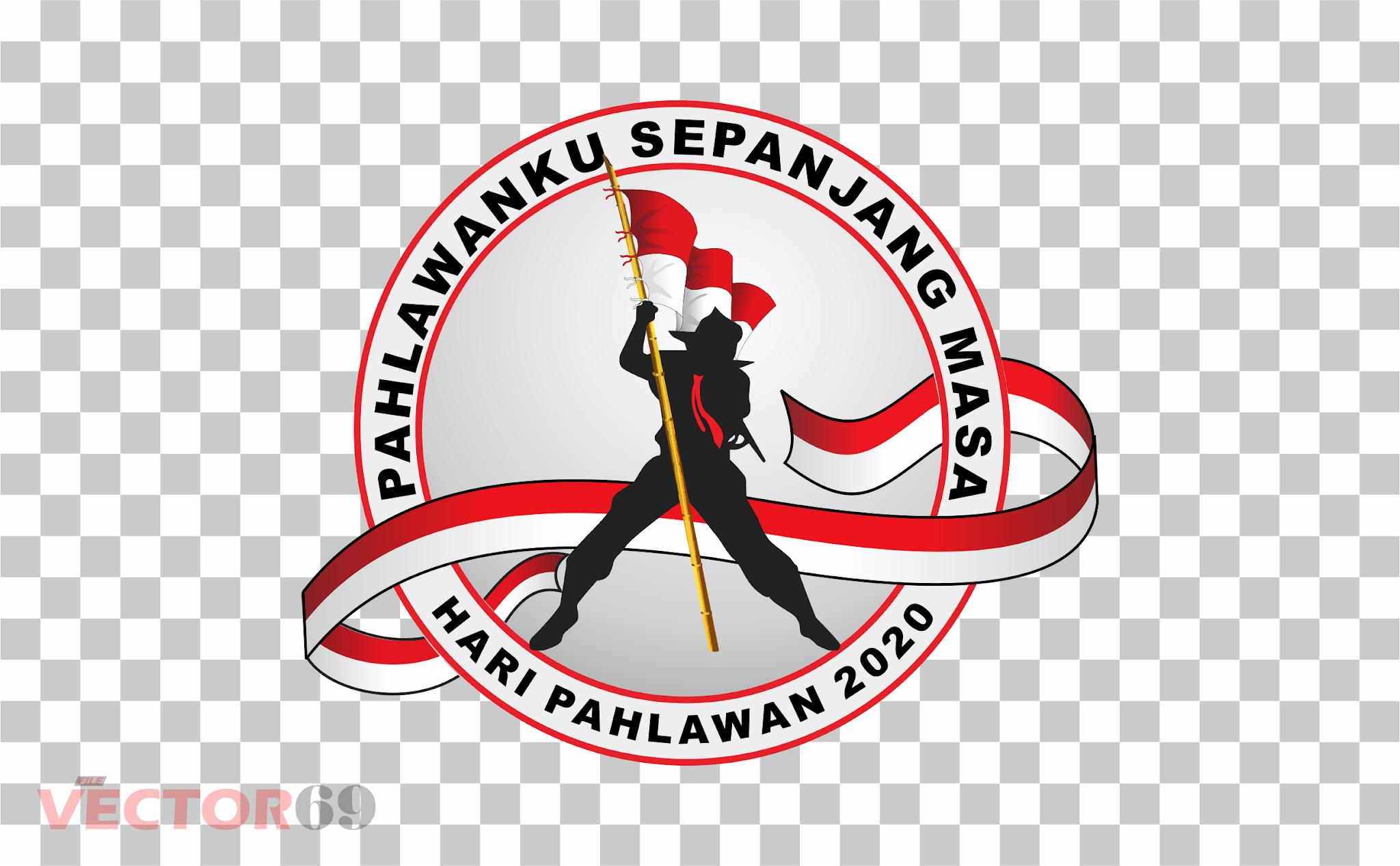Hari Pahlawan 2020 Logo - Download Vector File PNG (Portable Network Graphics)