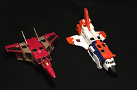 Blitzwing and Astrotrain Air Modes