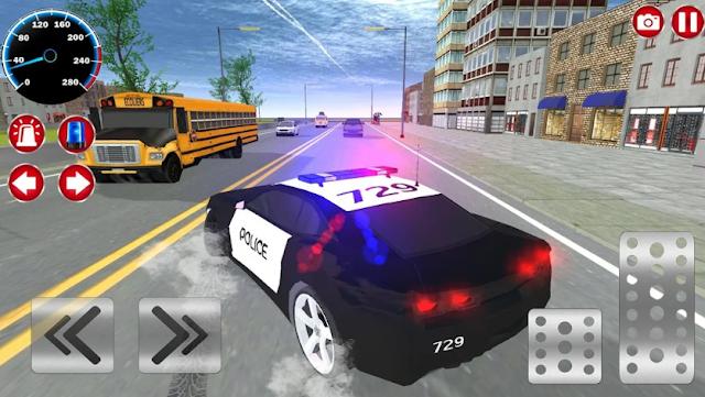 لعبة الشرطة والسيارات لعبة محاكاة 3D