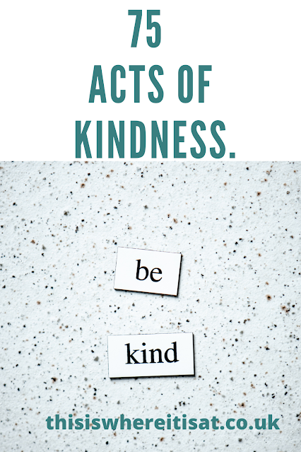 75 acts of kindness