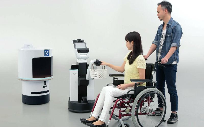 Los robots de Toyota para Tokio 2020