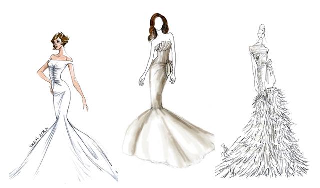 Passerelle Mode Estilistas Ja Comecam A Desenhar Vestidos Para A