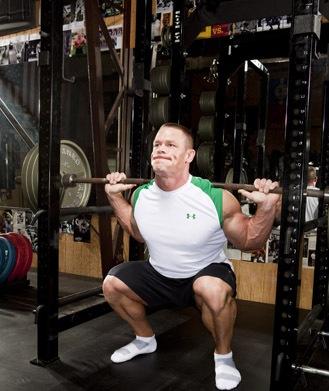 Bodybuilding champions diet secrets with john cena and - John cena gym image ...