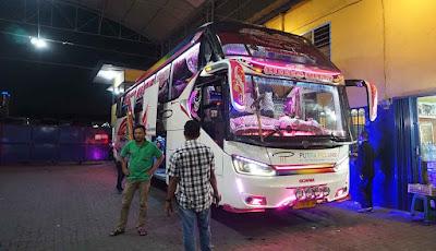 Bus PT. Putra Pelangi Perkasa Rute Medan-Banda Aceh