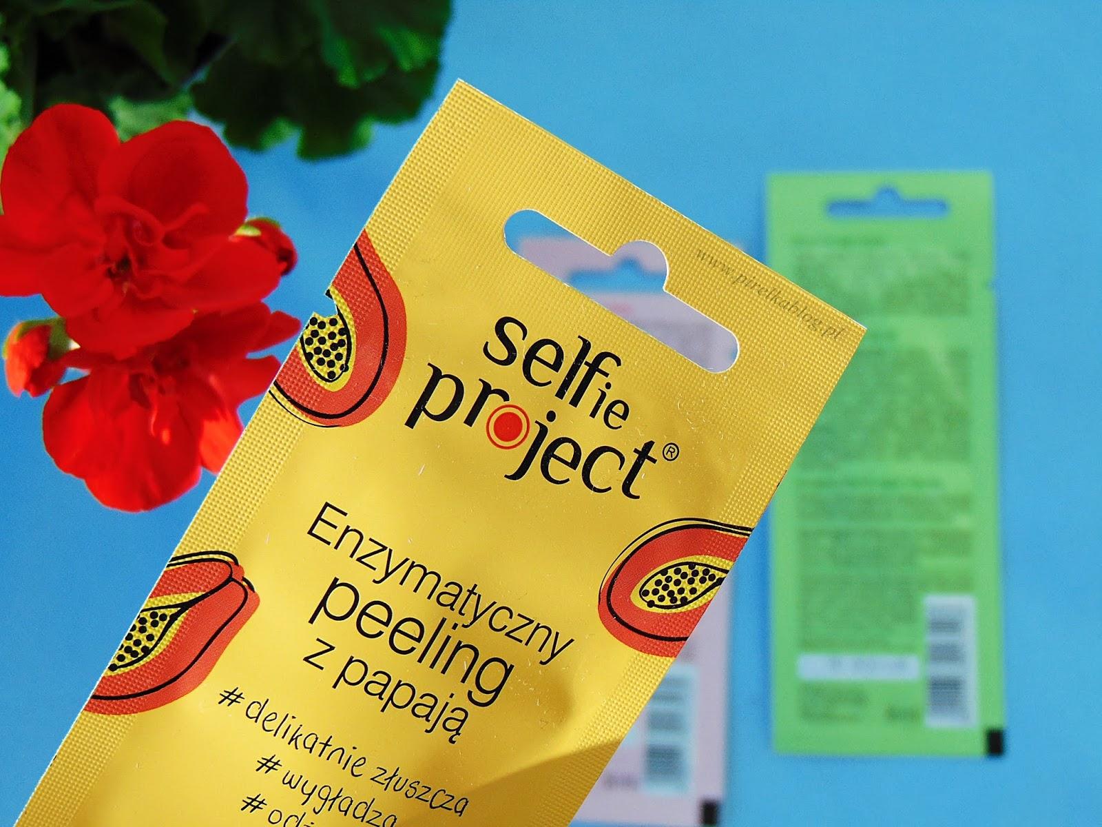 Selfie Project, owocowe peelingi do twarzy