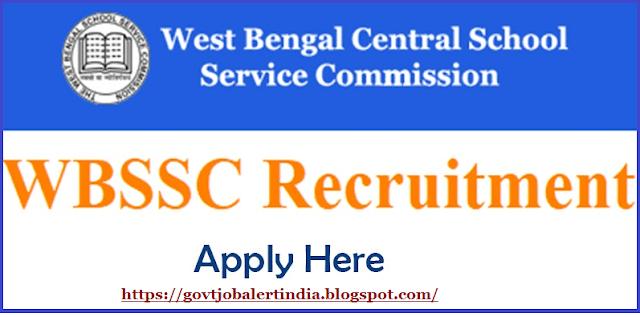 WBSSC Group D Recruitment 2018