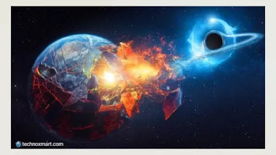 black hole near to earth