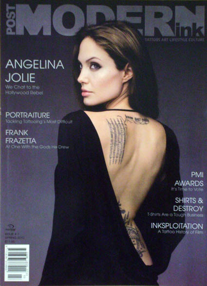 New Full Body Tattoo: Angelina Jolie Tattoos In Wanted