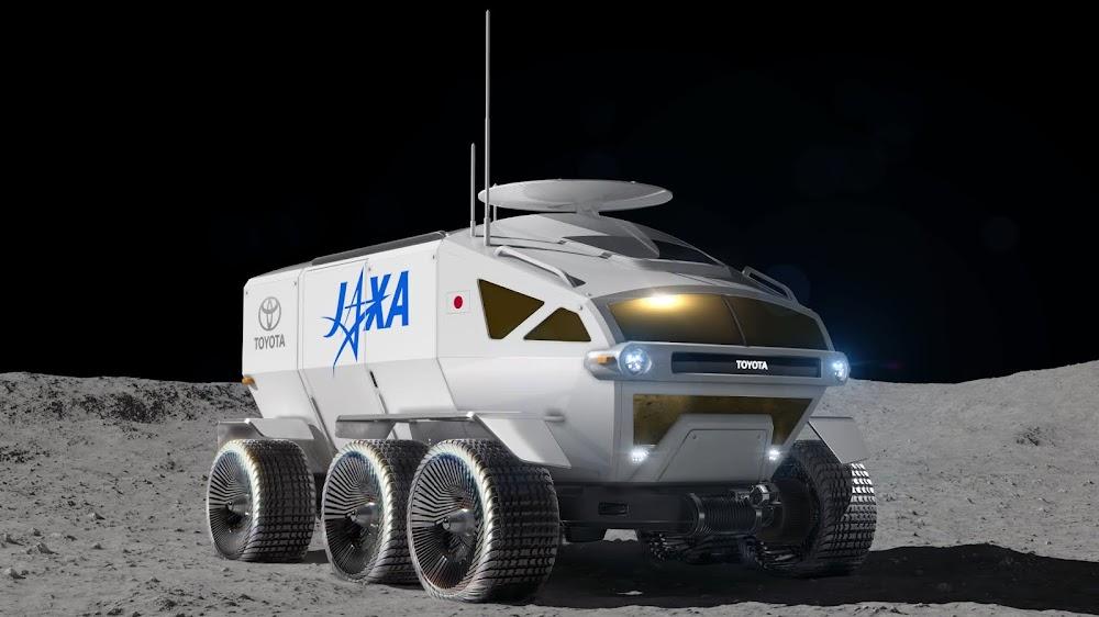 JAXA lunar rover by Toyota