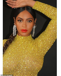 Beyonce reigns in gorgeous gold gown