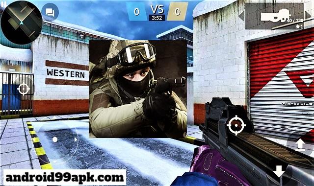 لعبة Critical Strike CS v9.59976 مهكرة كاملة (بحجم 139 MB) للأندرويد