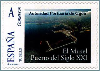 sello, personalizado, tu sello, Musel, puerto, Gijón