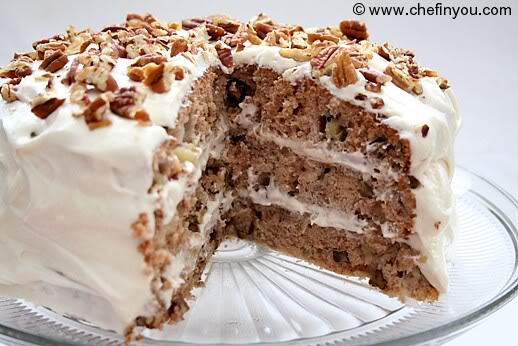 Low Calorie Hummingbird Cake