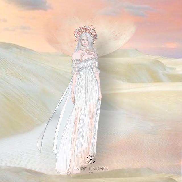 Fanny Liautard robe de mariage sur-mesure Paris
