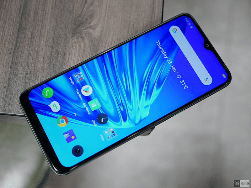 6.5-inch massive screen with a notch