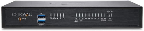 SonicWall TZ670 Network Security Appliance