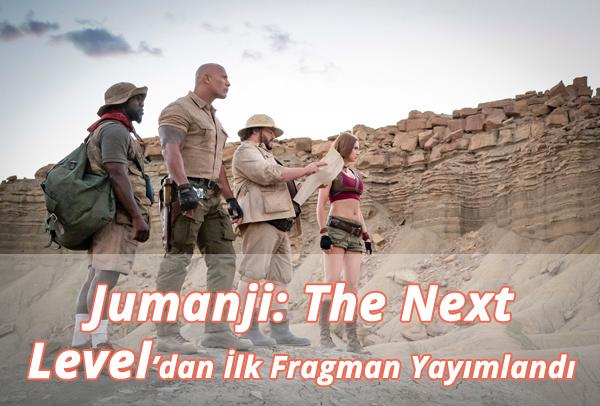 Jumanji: The Next Level Fragman