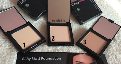verdebio Silky Matt Foundation Defa Cosmetics