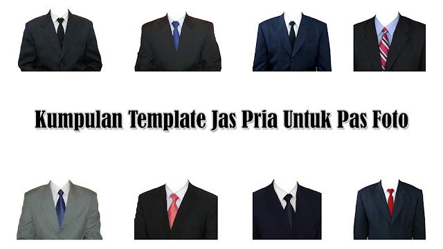 Kumpulan Template Jas Pria Gratis Untuk Edit Pas Foto Format PNG Dan PSD