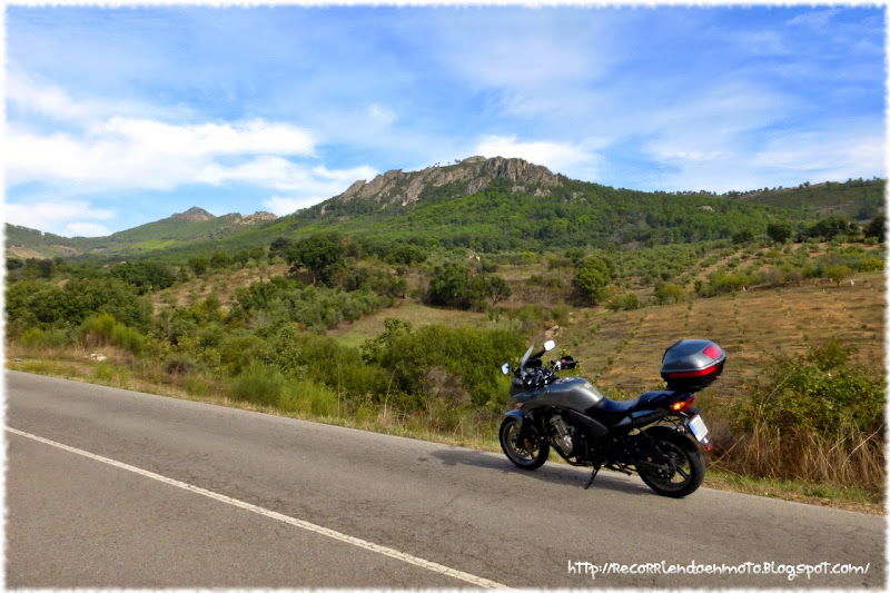 cbf600s en Sierra de las Villuercas