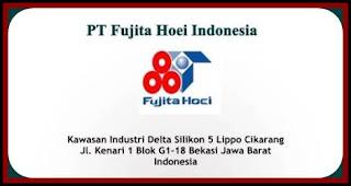 Lowongan Kerja Cikarang PT Fujita Hoei Indonesia Delte Sillicon Terbaru 2019
