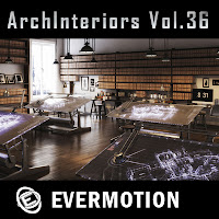 Evermotion Archinteriors vol.36室內3D模型第36期下載