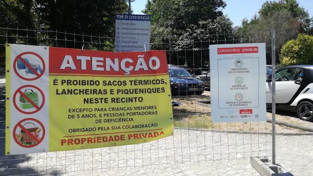 Informações Sobre proibição de picnic