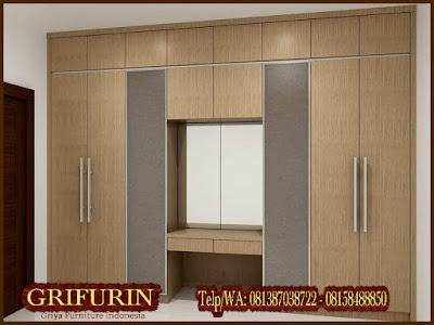 Harga pembuatan Furniture Lemari Finishing HPL