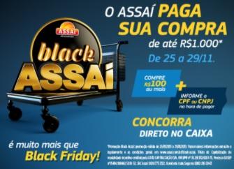 Promoção Black Friday 2020 Assaí Atacadista Compra Paga Até 1 Mil Reais