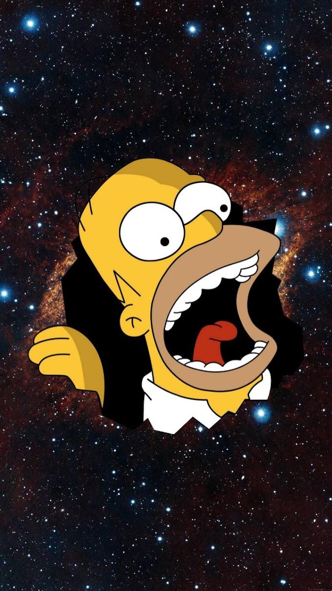 Plano de Fundo para Celular Homer Simpson