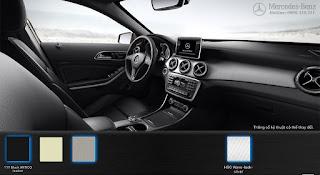 Nội thất Mercedes GLA 200 2015 màu Đen Artico 111