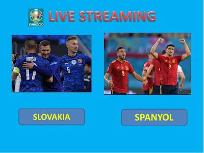 10+ Link Live Streaming Euro 2020 SLOVAKIA VS SPANYOL Berlangsung Di Stadion Olimpiade Sevilla