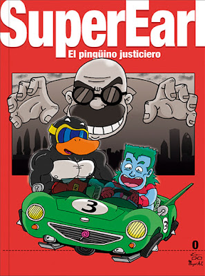 Reseña de Super Earl: El Pingüino Justiciero de Magori Art.