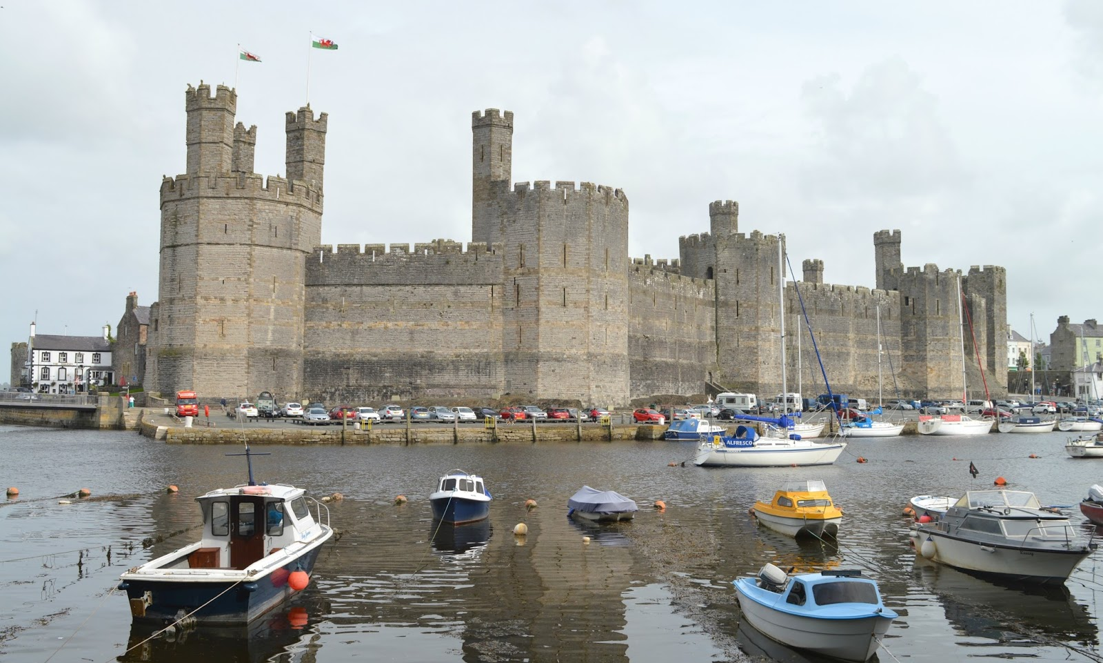 Anglesey and North Wales Staycation - Caernarfon