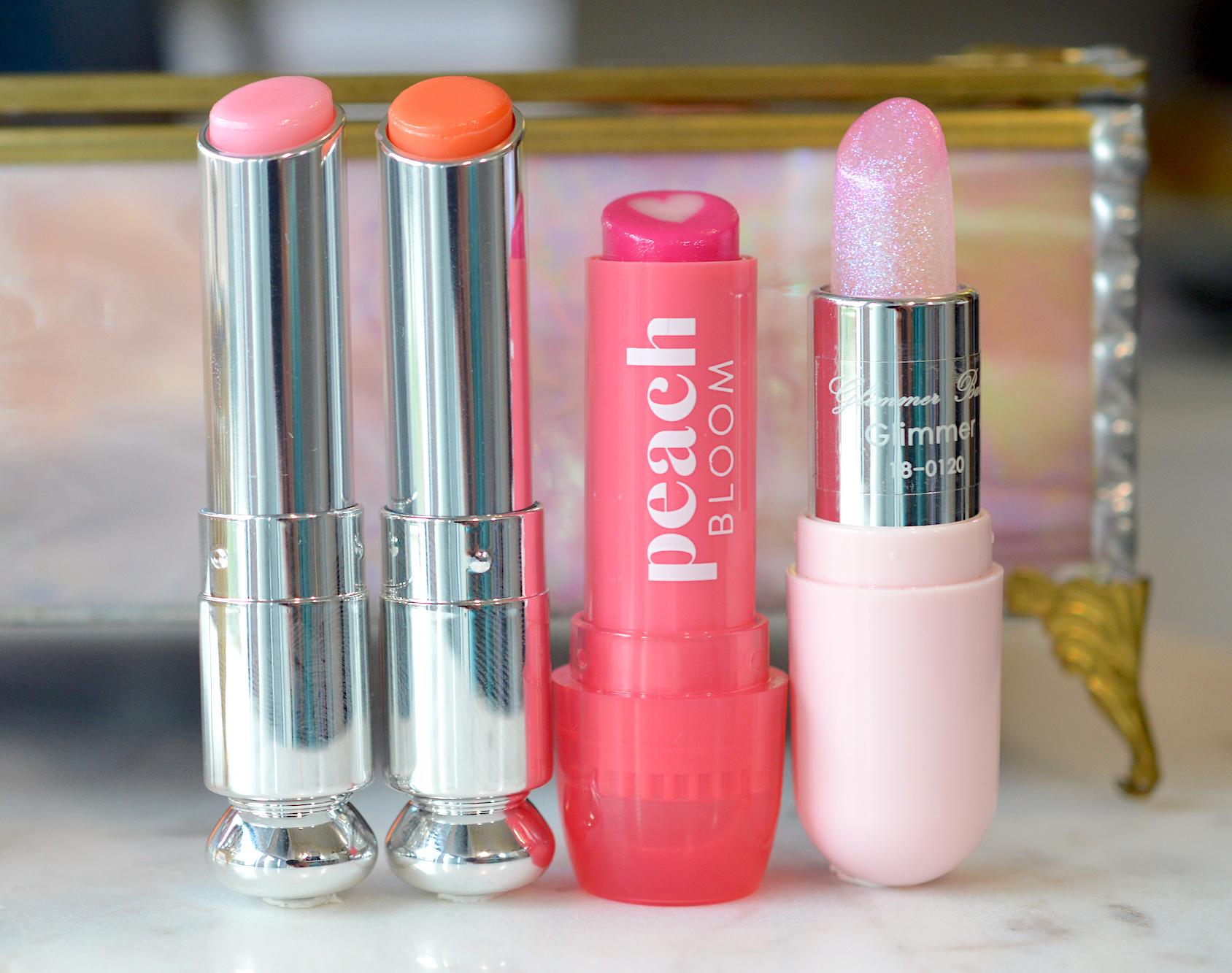 Glossy Pink Lip Balm